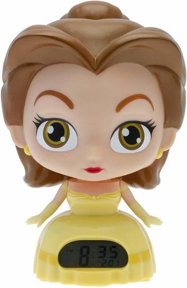 Reloj Despertador Digital Princesa Disney Belle Bella