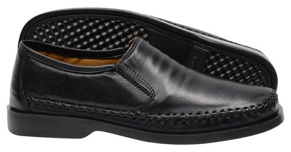 Sapato Anti-stress Conforto 100% Em Couro Galway 753.