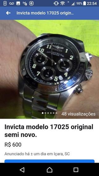 Relógio Invicta Speedway 17025 Semi Novo Original