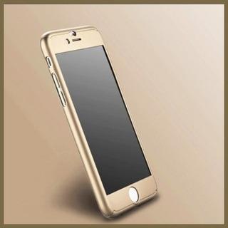 Funda iPhone 7 Y 8 Proteccion 360º +mica Templada