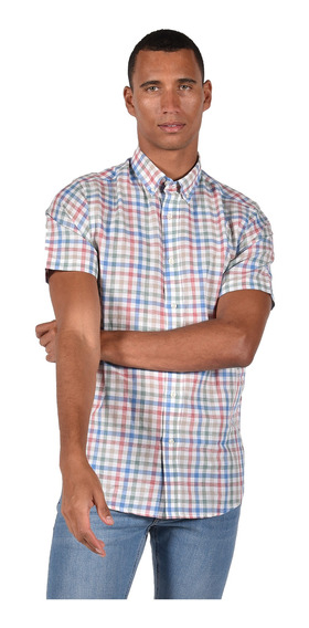 Camisa Classic Fit Chaps Blanco 750699039-2wgr Hombre
