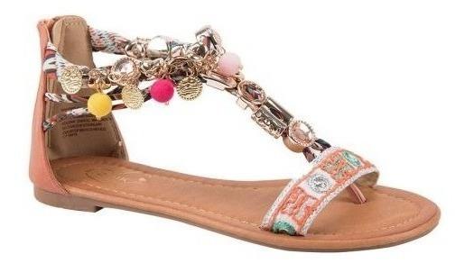Sandalia Casual Textil Price Shoes 183b Cafe 162700 Msi