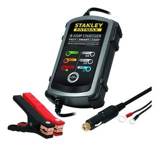 Cargador Mantenedor De Bateria 12v Stanley 8amp
