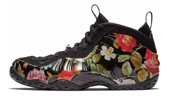 Zapatillas De Basquet Nike Air Foamposite Floral Talle 10us