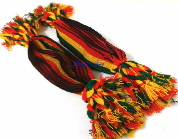 24 Pulseiras Reggae Jamaica Amizade Grossa 3cm Preço Atacado