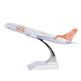 Miniatura Avião Aeronave 16cm 1:400 - Vários Modelos