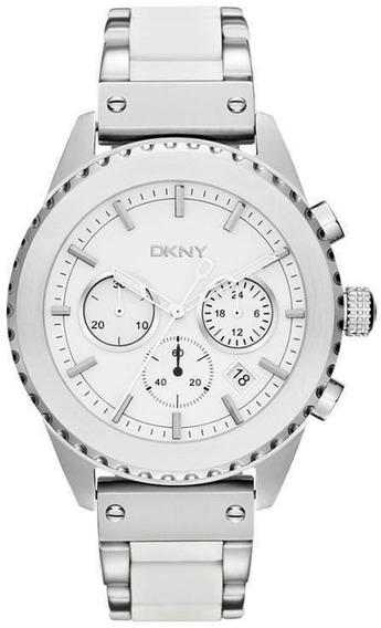 Reloj Dkny Silicone White Bowery