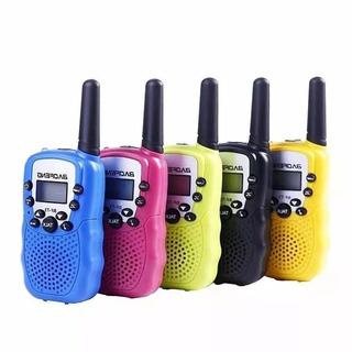 Kit 2 Rádio Walk Talk Comunicado Baofeng Bf T3 Longo Alcance