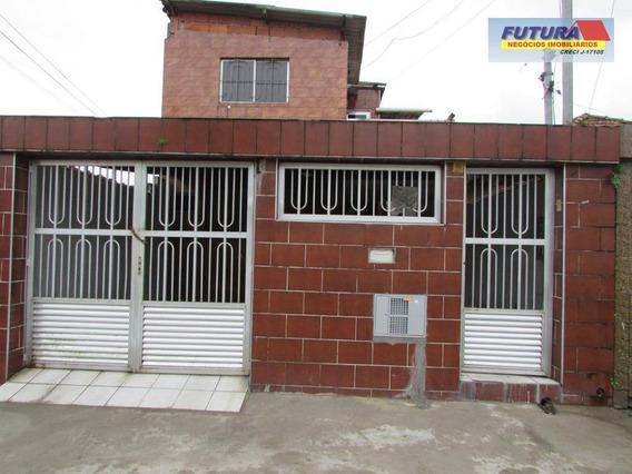 Sobrado Com 2 Dormitórios Para Alugar, 189 M² Por R$ 1.300,00/mês - Jardim Paraíso - São Vicente/sp - So0290