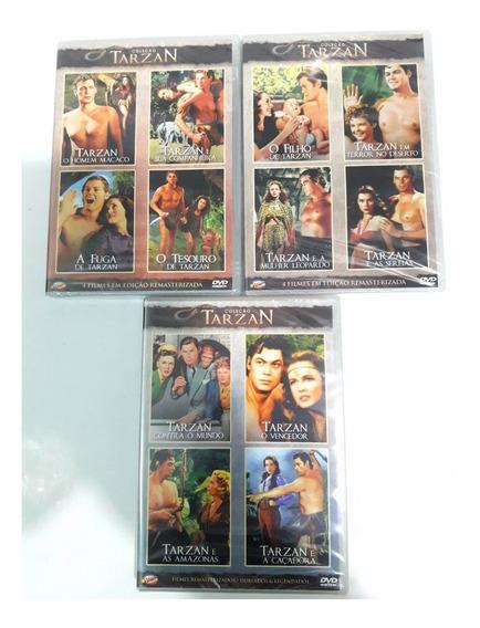 Coleção Tarzan - Johnny Weissmuller - 12 Filmes - Lacrados