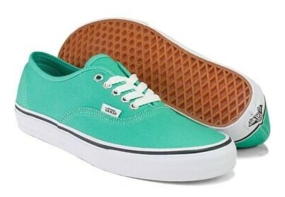 Zapatillas Vans Authentic Aqua Green