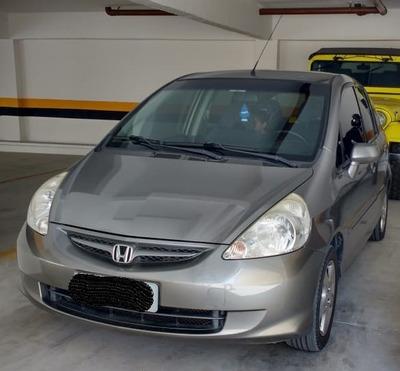 Honda Fit Lxl 1.4 Flex Completo 2008 Cinza