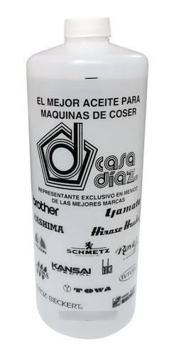 Imagen 1 de 3 de Aceite Para Máquinas De Coser Y Bordar - Casa Díaz 1 Litro