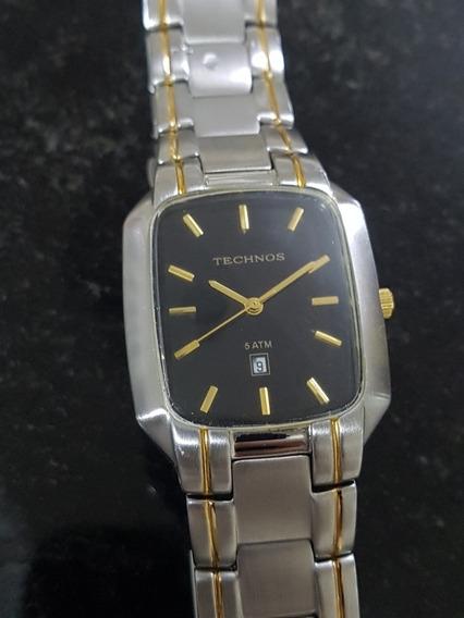 Relógio Original Technos Quadrado 35 X 30mm