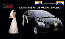 Alquiler De Autos Para Matrimonios, Quinceañeros Y Otros