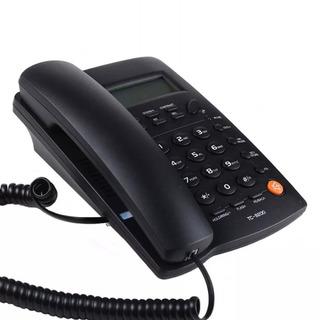 Telefono De Escritorio Para Linea Fija Tc-9200 Negro