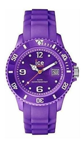 Ice-watch Men S Si. Pe. B.s.09 Sili Collection Purple Plasti