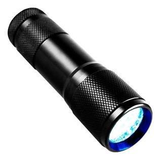 Linterna Uv Lampara Luz Negra Ultravioleta Billetes Falsos