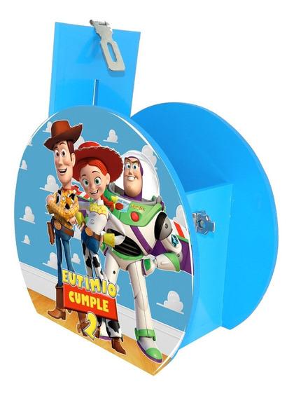 Alcancía Dulcero Centro Mesa Toy Story Cielo Personalizado