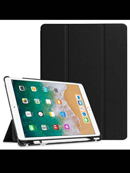 Case iPad Pro 10.5 Pol. 2017. Azul-marinho. Dobrável. Nova.