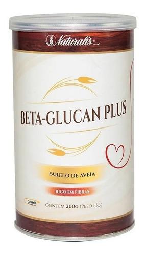 Beta-glucan Plus Farelo De Aveia 200g Naturalis