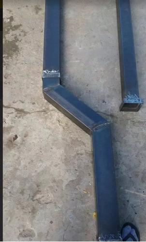 Caños Para Salamandra Quematuti Estufa Calefactor