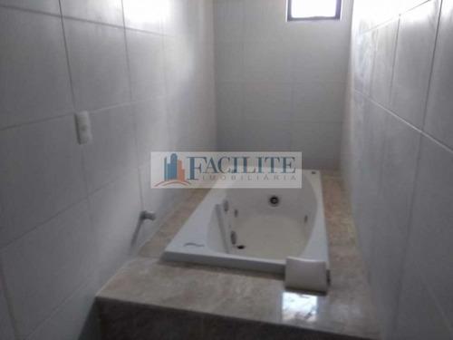 2673 - Apartamento Para Vender No Bessa, João Pessoa Pb - 21951