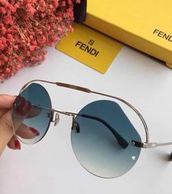 03a55d3a4 Oculos Fendi Branco Cateye - Óculos no Mercado Livre Brasil