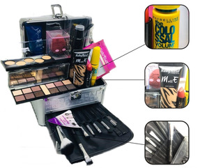 Maleta Kit Maquiagem Completo Ruby Rose + Maybelline