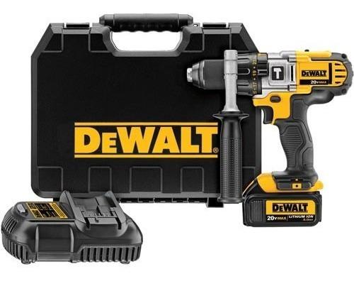 Parafusadeira Furadeira Impacto 20v 2 Baterias Dewalt Dcd985