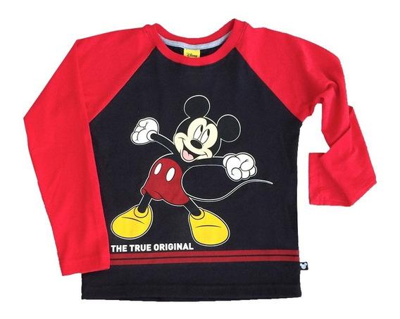 Sudadera Mickey Mouse De Disney Oficial Para Niño