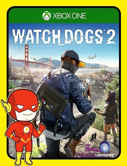 Watch Dogs 2 Xbox One - 25 Dígitos (envio Flash)