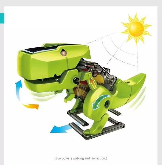Robô Solar T3 Educacinal Robótica (envio Imadiato)