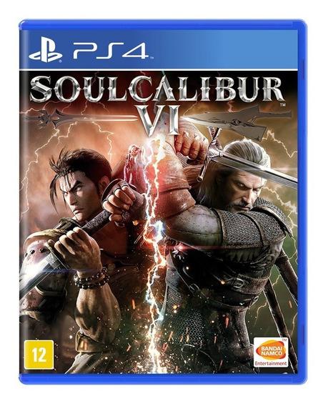 Jogo Soulcalibur Vi 6 Ps4 Mídia Física Pronta Entrega Novo