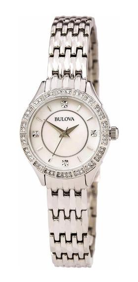 Reloj Bulova Mujer Colgante Clasico Cristales 96x133