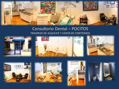 Traspaso Consultorio Dental Totalmente Equipado En Pocitos