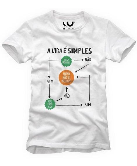 Camiseta A Vida É Simples Reserva