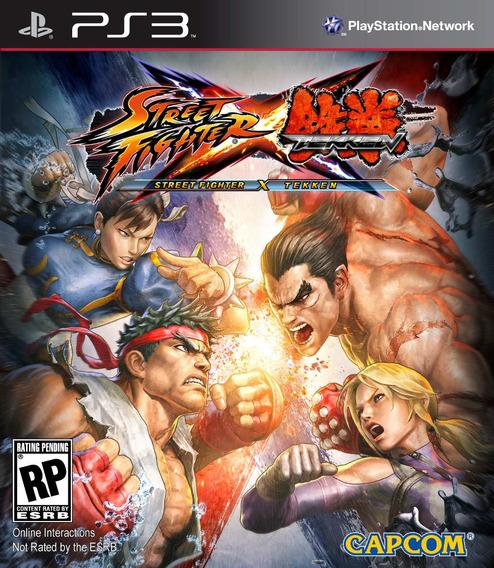 Street Fighter X Tekken - Ps3 - Psn - Envio Agora