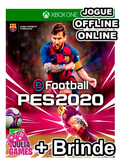 Pes 2020 Em Portugues Br Xbox One Digital On E Off + Brinde