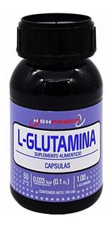 L - Glutamina High Power 100 Cápsulas Envio Full