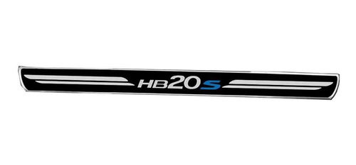 Jogo Soleira Premium Elegance Hyundai Hb20s