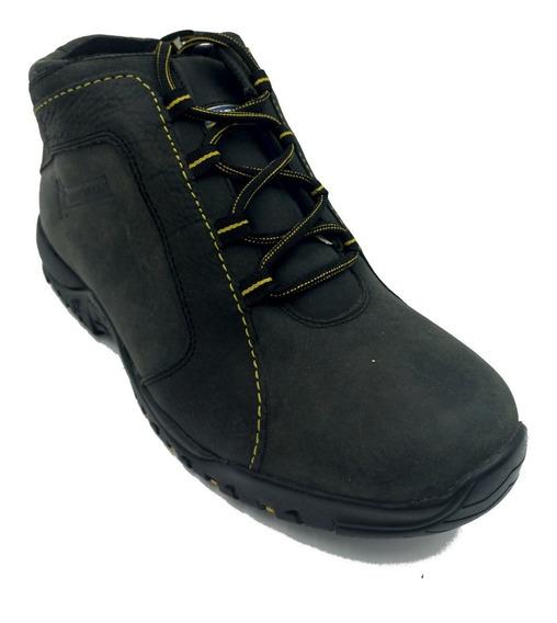 Zapato Michelin Sport Sse Negro Hombre