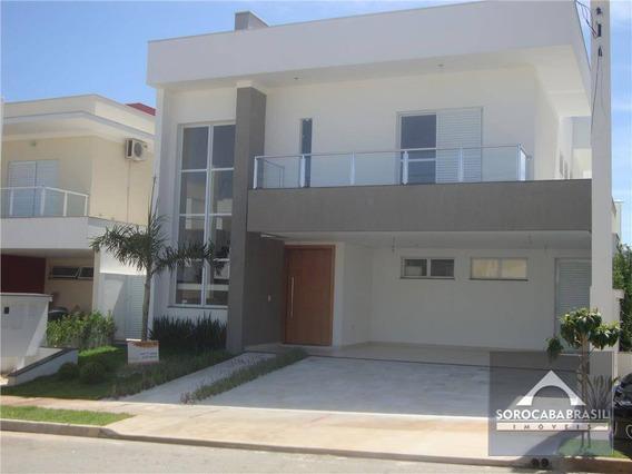Sobrado Com 3 Dormitórios À Venda, 320 M² Por R$ 1.300.000 - Residencial Giverny - Sorocaba/sp, Próximo Ao Shopping Iguatemi. - So0014
