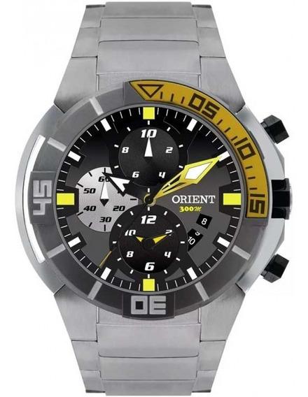 Relógio Orient Seatech Masculino Cronógrafo Mbttc003 Titânio