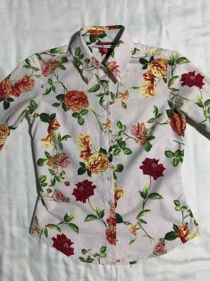 Camisa Floreada Tommy Hilfiger
