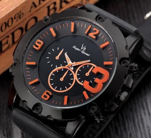 Relógio Masculino Esportivo Pulseira Confortável De Silicone