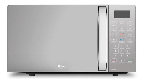 Imagem 1 de 5 de Microondas Philco PMO23EB   branco 20L 127V