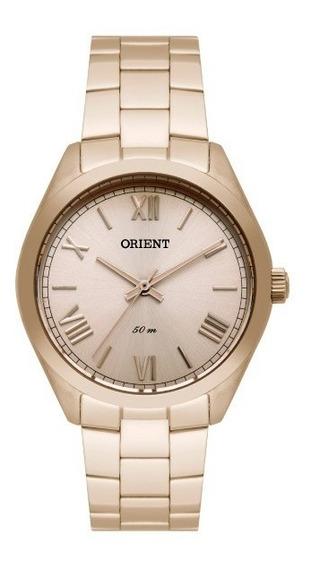 Relógio Orient Feminino Dourado Envelhecido 34751