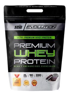 Whey 3kg Proteina Star Nutrition Suero-congreso -balvanera