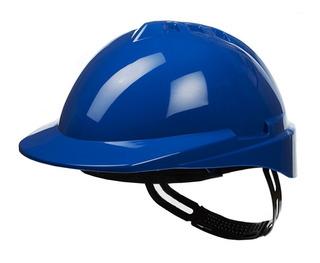 Casco De Trabajo Libus Azul + Arnés Plástico Standar Class